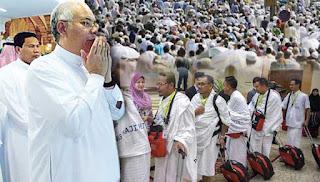 Najib nasihat jemaah haji jangan baca berita tidak berfaedah