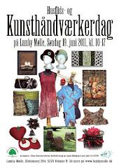 Kunsthåndværkerdag på Lumby Mølle 19. juni