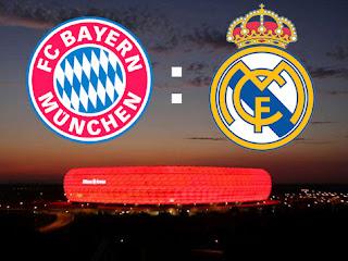 Live Stream Real Madrid - Bayern München Champoinsleague Halbfinale Rückspiel