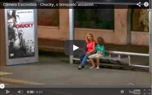Pegadinha Chucky SBT Programa Silvio Santos
