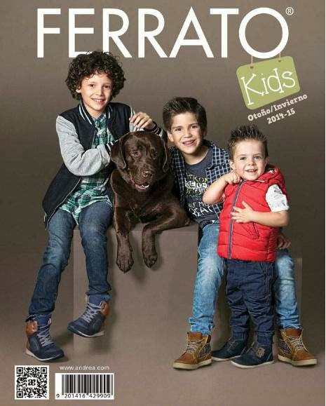 catalogo andrea ferrato kids oi 2014-15