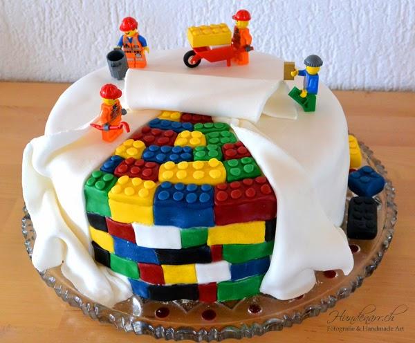 Hundenarr Photography Handmade Art Regenbogen Lego Torte