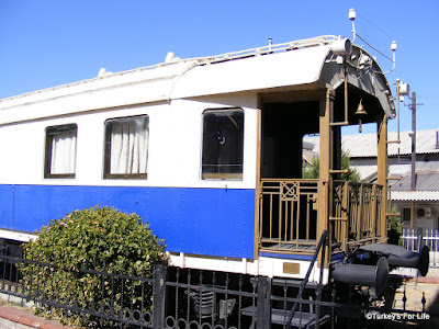 Atatürk's Train Carriage, Alsancak, Izmir