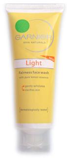 Garnier Light Fairness face wash