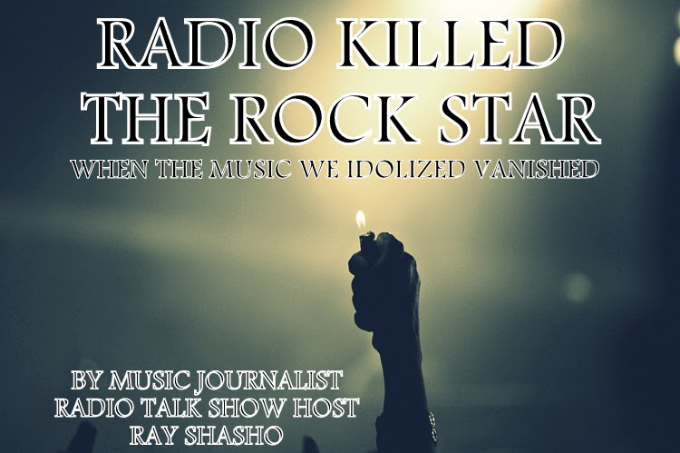 RADIO KILLED THE ROCK STAR- NEW BOOK PROJECT