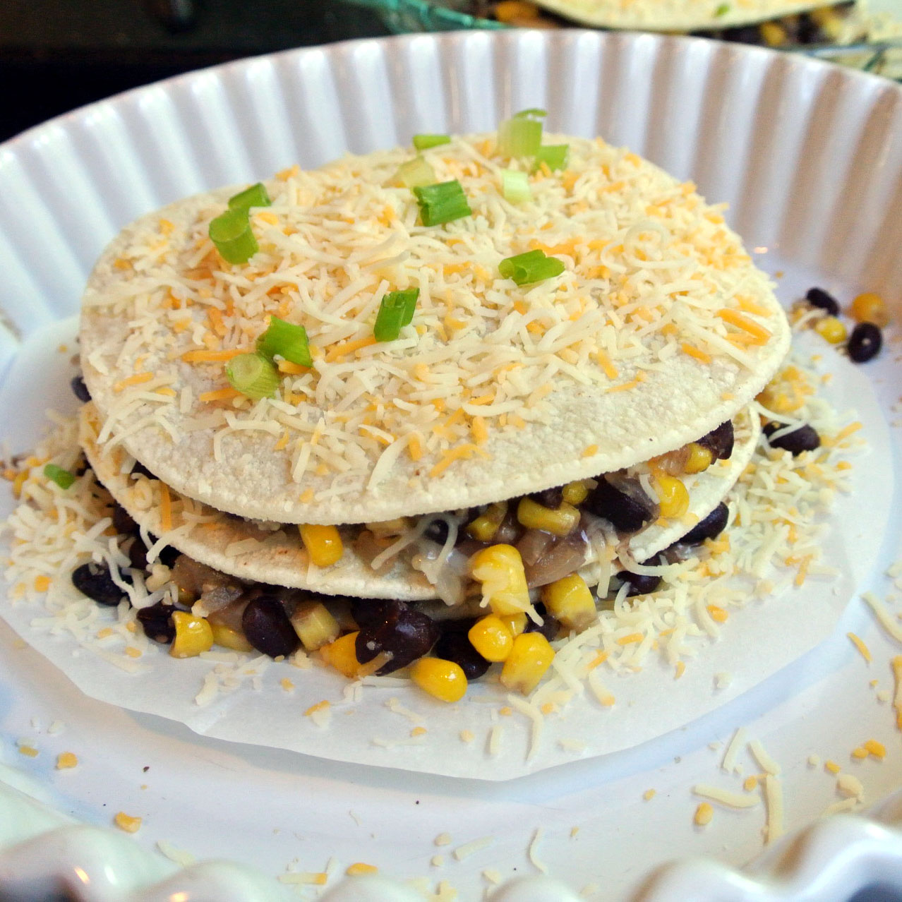 Mom, What's For Dinner?: Tortilla and Black Bean Pie