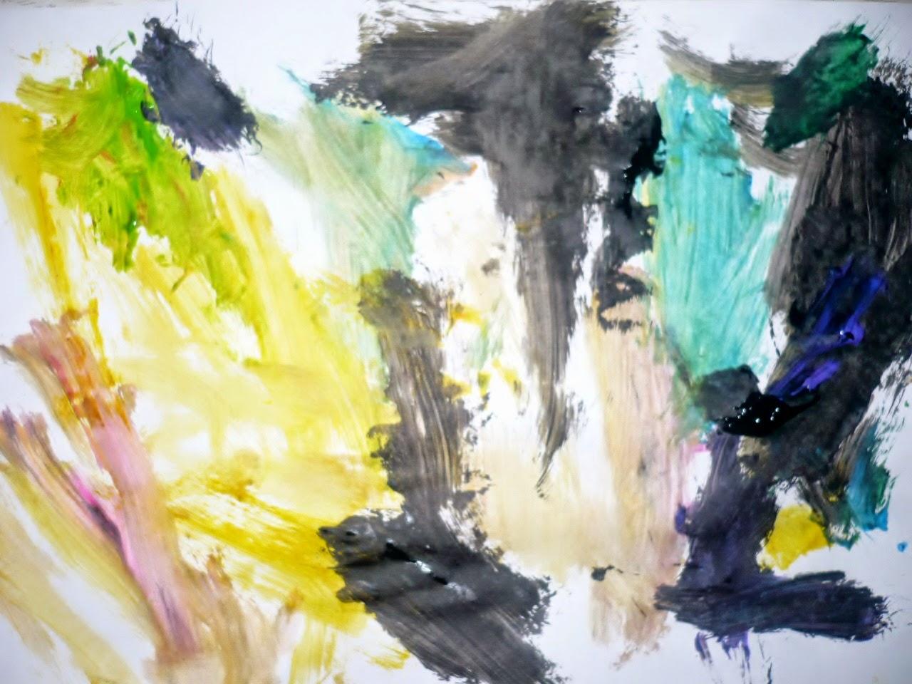 дети рисуют цвет