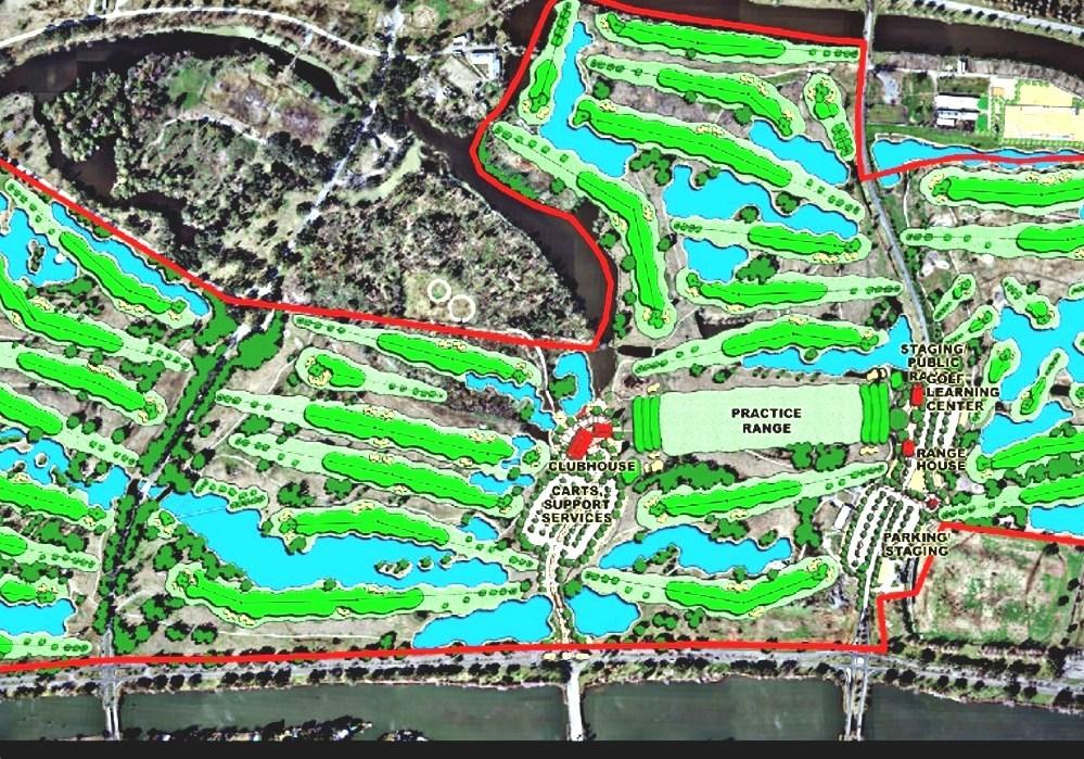 City Park Golf Courses (New Orleans) - Golf Course In New Orleans City Park Map New Orleans on