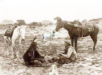Conto indígena , Indio, Cabrita, Cachorro,  Falar com Animais,  Homem,