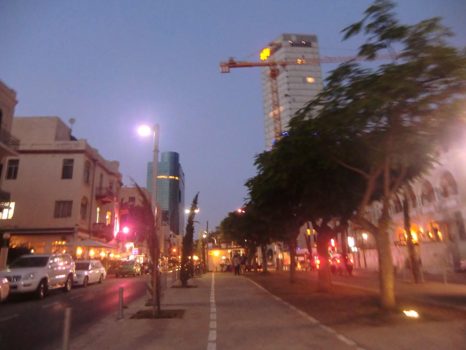 Бульвар-Ротшильда-в-Тель-Авиве
