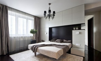 foto de dormitorio moderno elegante