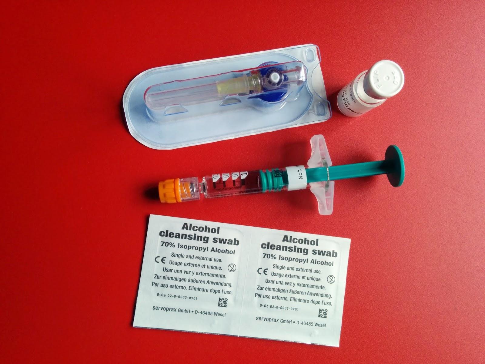 contenido inyección prueba betaferon