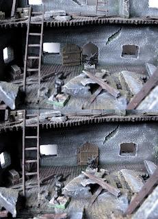 drabiny oraz ruchome drzwi do makiet