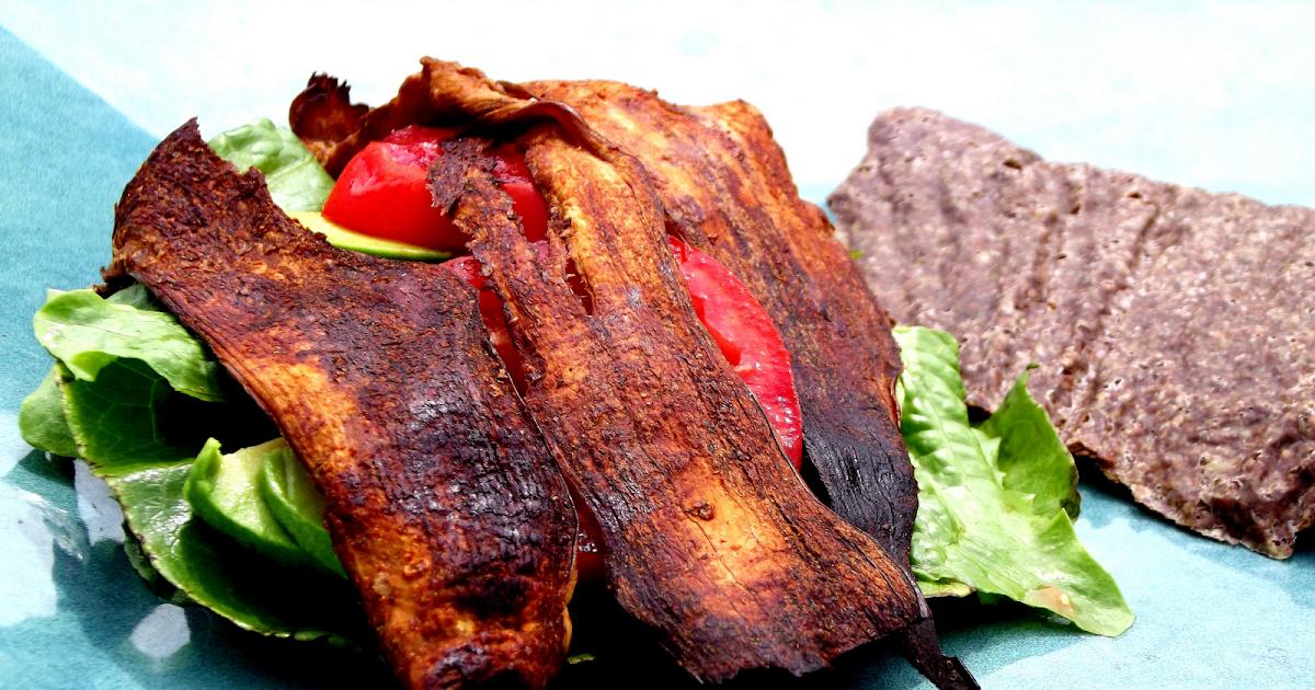 Raw Food Passion: Eggplant Bacon: BLT