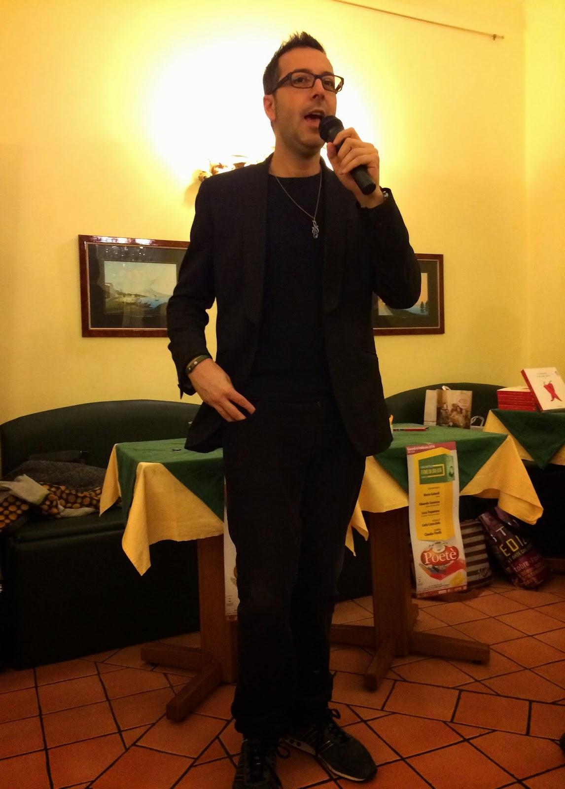 Luca_Bianchini_Io_che_amo_solo_te_La_cena_di_Natale_Polignano_a_Mare_Puglia_Mimì_Ninella