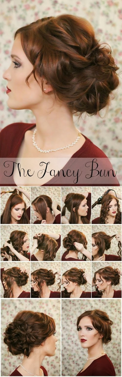 the fancy bun