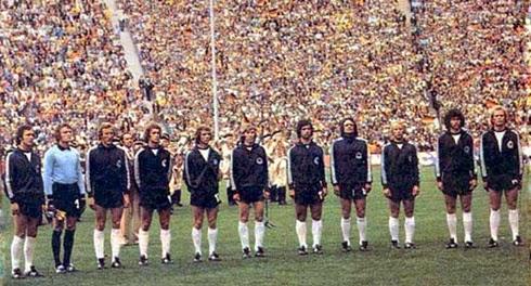 Seleção Alemanha campeão copa do mundo 1974
