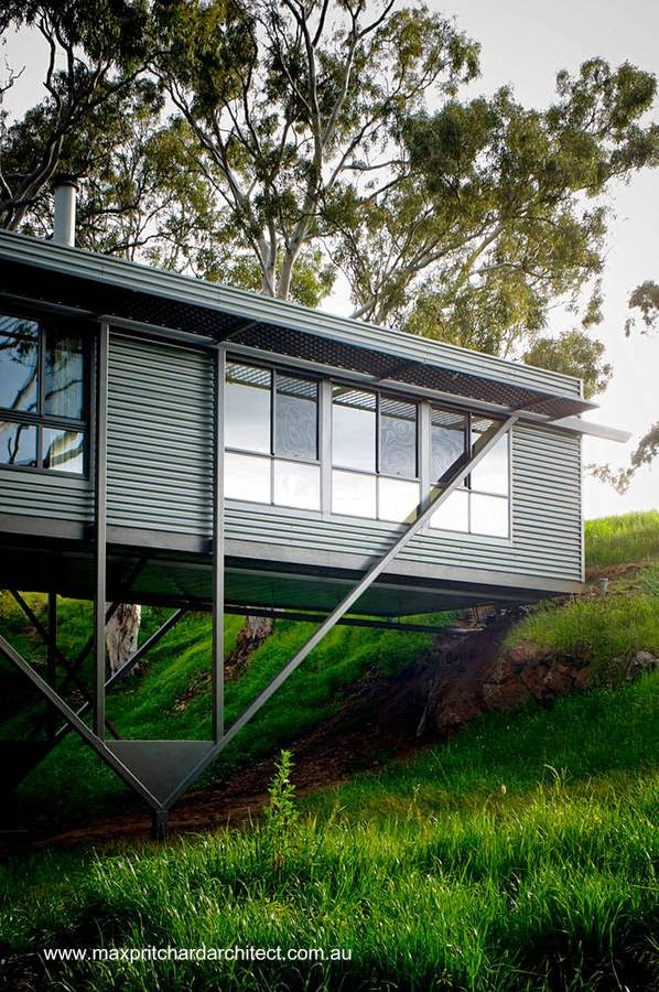 Casa puente en Australia
