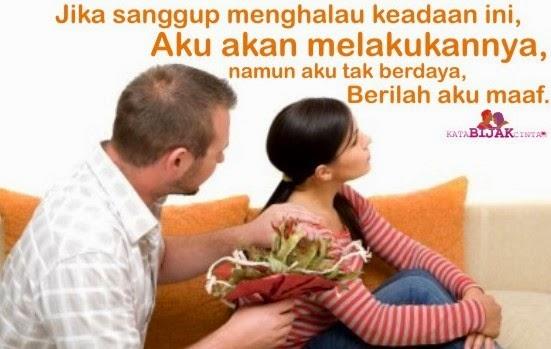 kata permintaan maaf untuk kekasih