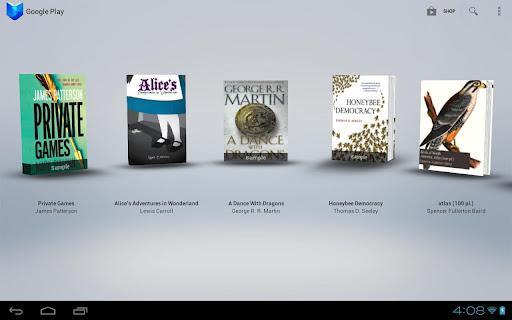 Google Play Books recebe atualização com várias novidades