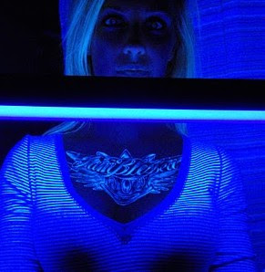 Glow in the dark tattoos