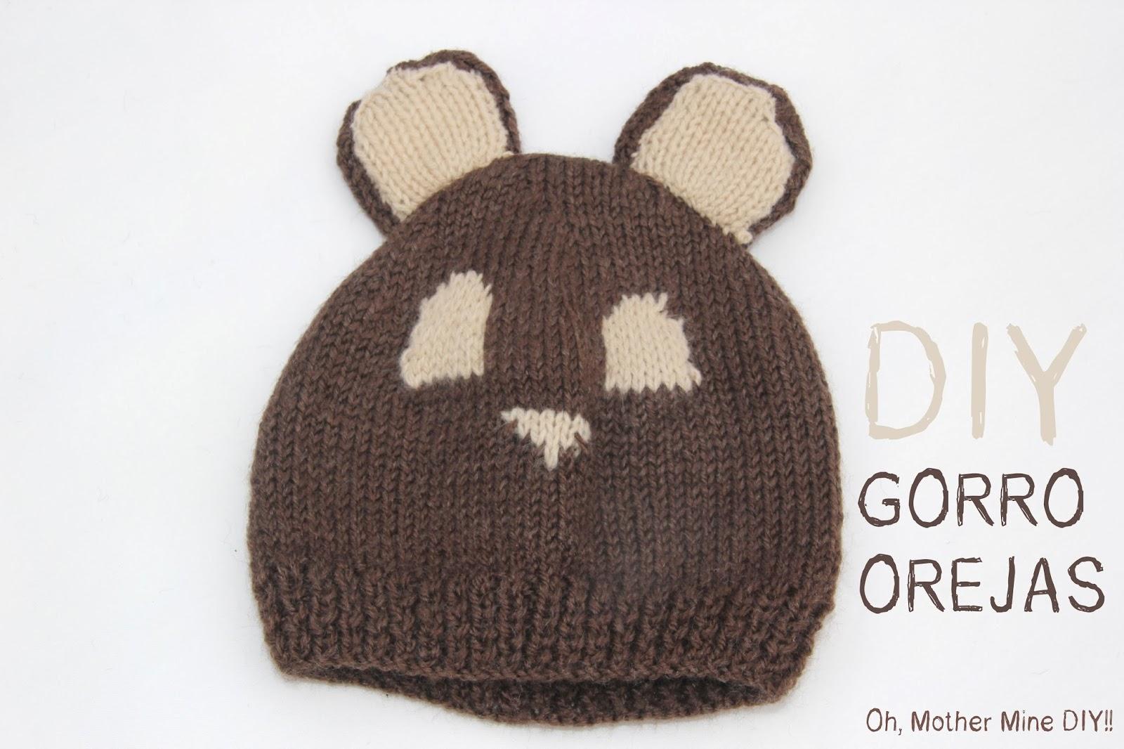 , ropa de bebe y mucho más para coser.: DIY Cómo hacer gorro de