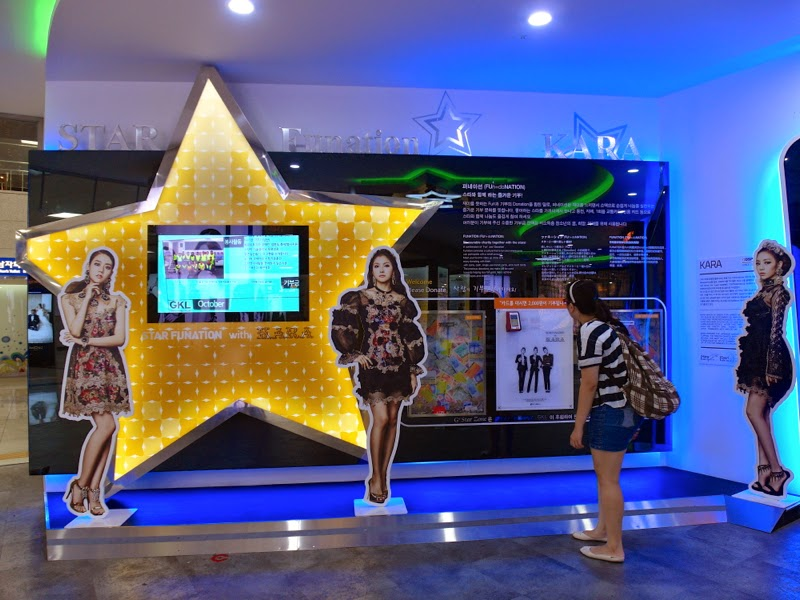 Ewha Summer Studies Apgujeong Rodeo Street Station G Star Zone Seoul South Korea lunarrive travel blog