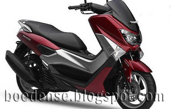 yamaha NMax 150cc merah
