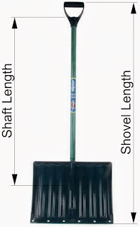 Snow Shovel Measurements