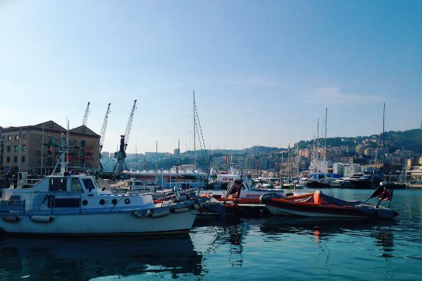 Genova, Italia, Italy, Porto Antico