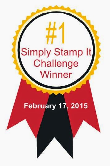 Simply Stamp It Challenge Winner