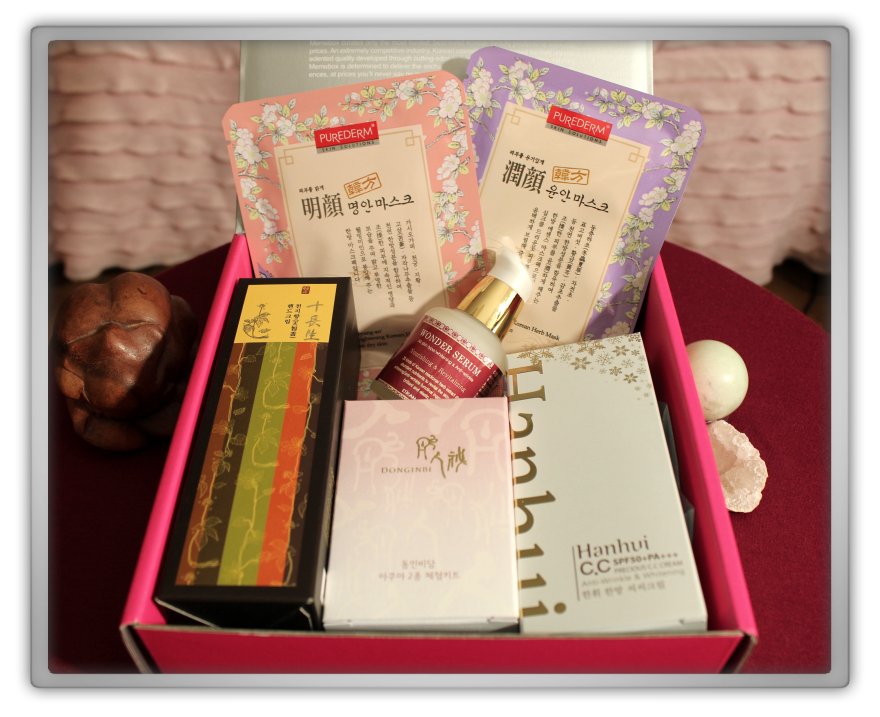 겟잇뷰티박스 by 미미박스 memebox beautybox # special #8 Oriental medicine unboxing review preview box look inside