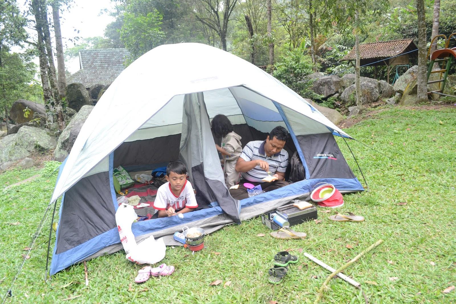 Jejak Pena Pemula Family Camp Di Pondok Halimun