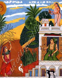 Rangaputra Harsha Painting