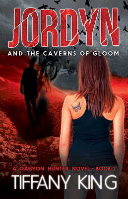 Cover Reveal: Jordyn and the Caverns of Gloom by Tiffany King