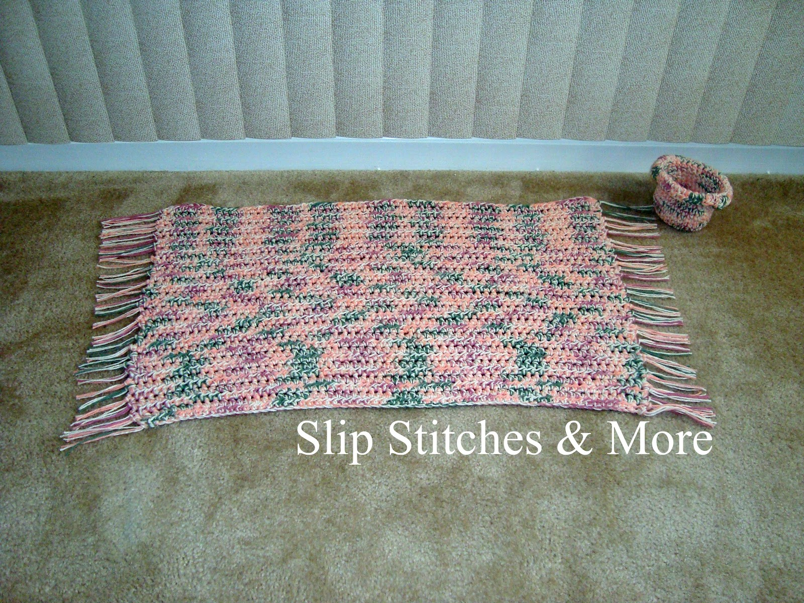 Easy crochet rug patterns crochet and knitting patterns for Easy rugs