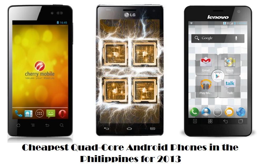 Quad Core Phones