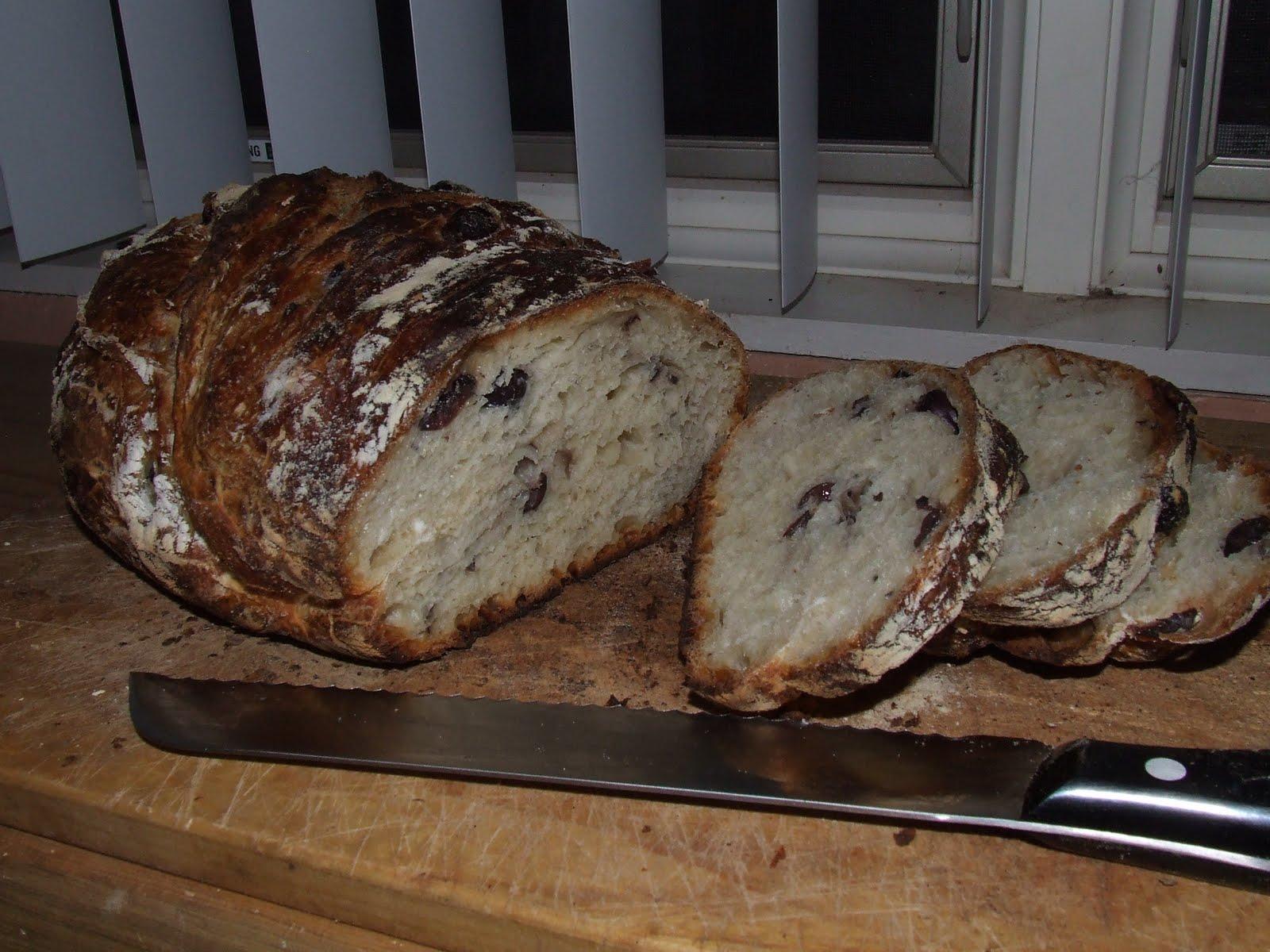 Kalamata Olive Bread Recipe — Dishmaps
