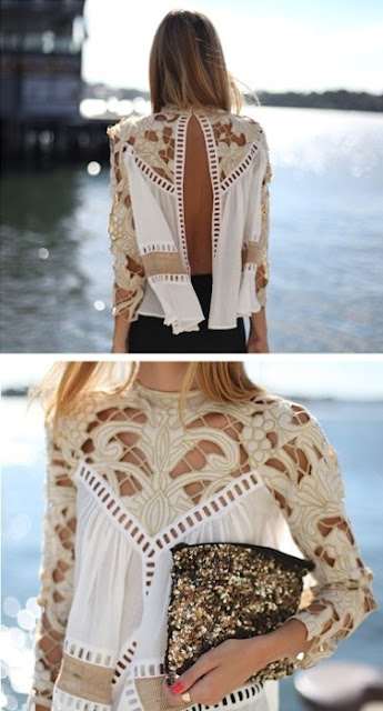 Vía Pinterest por Laura Beatty en Lovely Lace Desde fashionworship.com is by Zimmermann http://fashionworship.com/