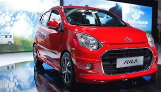Daihatsu Resmi Jual Mobil Baru Ayla