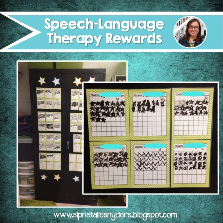 Speech-Language Therapy Reward System - Natalie Snyders, SLP
