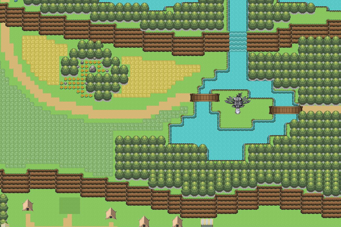 Rpg al mejor estilo Pokemón Map
