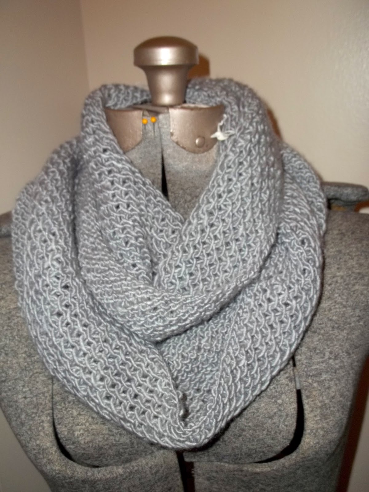 .: Honey Cowl and Baby Sweater