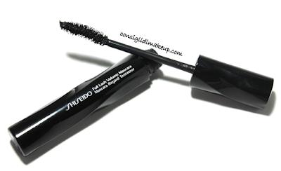 shiseido nuovo mascara incurvante e volumizzante