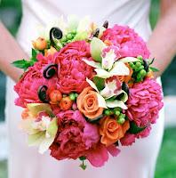 Hoa cưới kiểu tròn 9