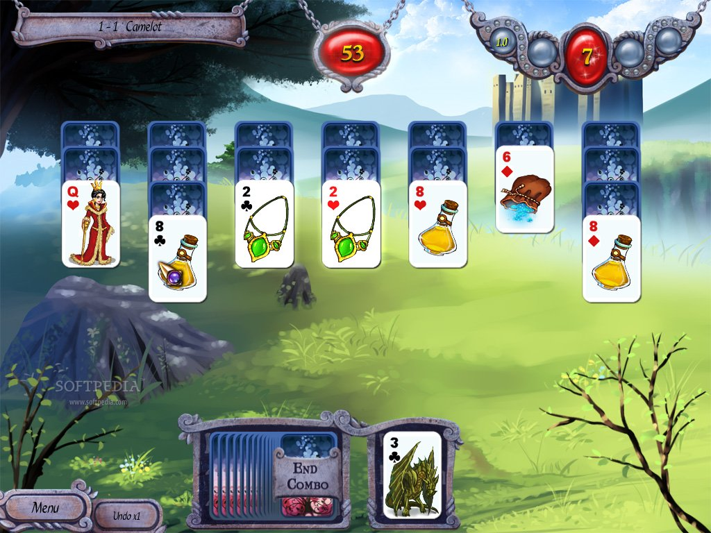 EASY FREECELL Solitaire is the famous solitaire card FREECELL ...