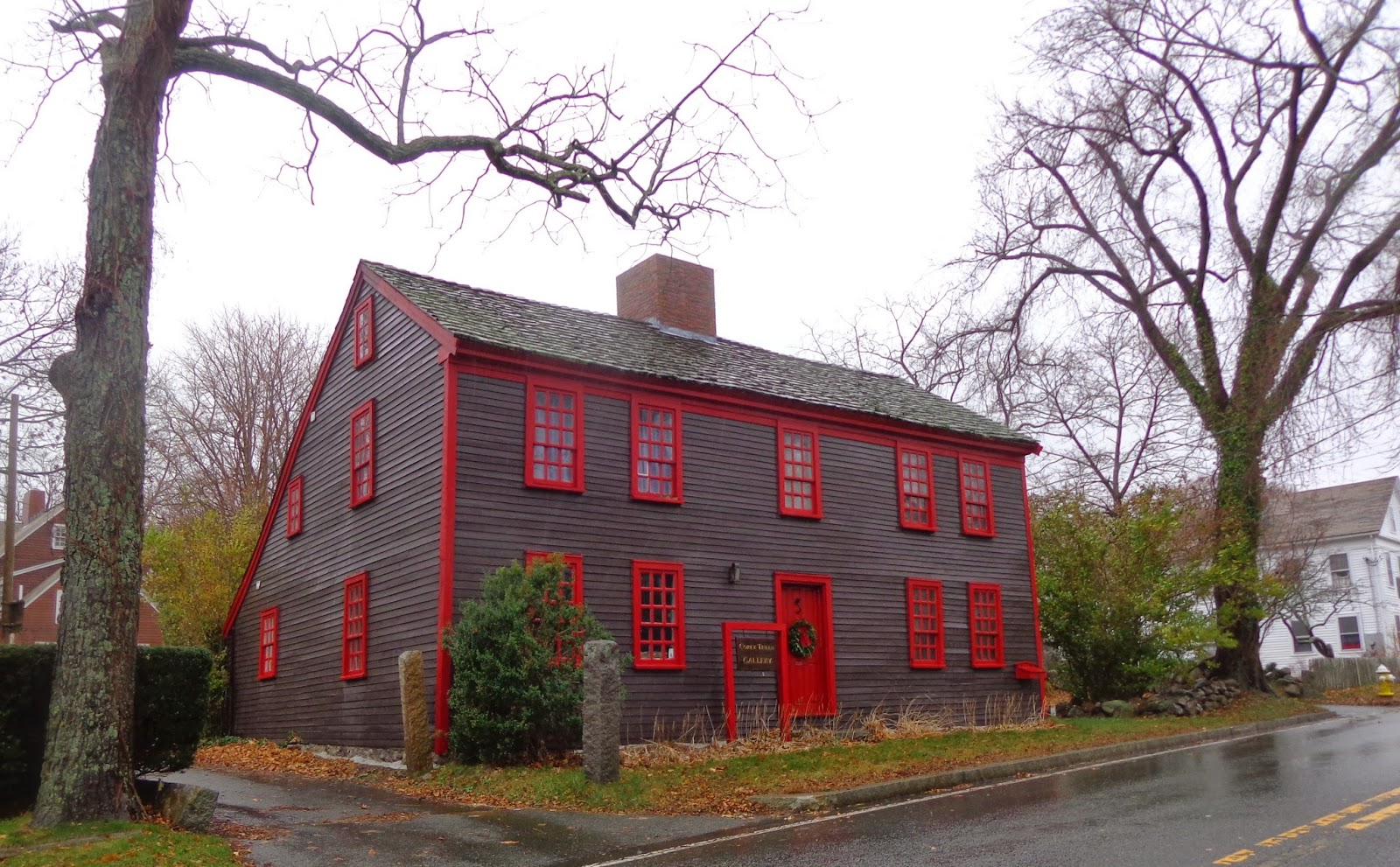 antique houses of gloucester and beyond november 2014 the 1757 house built by ephraim shelden the saltbox was added by the rowe brothers circa 1787