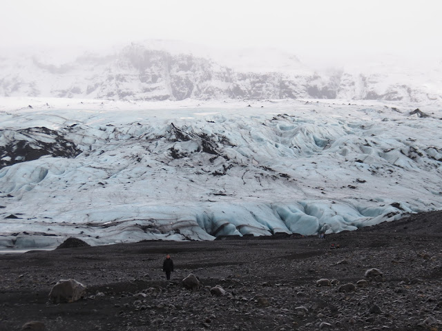 Iceland ice picking