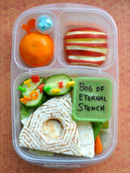 Labyrinth bento lunch with bog of eternal stench