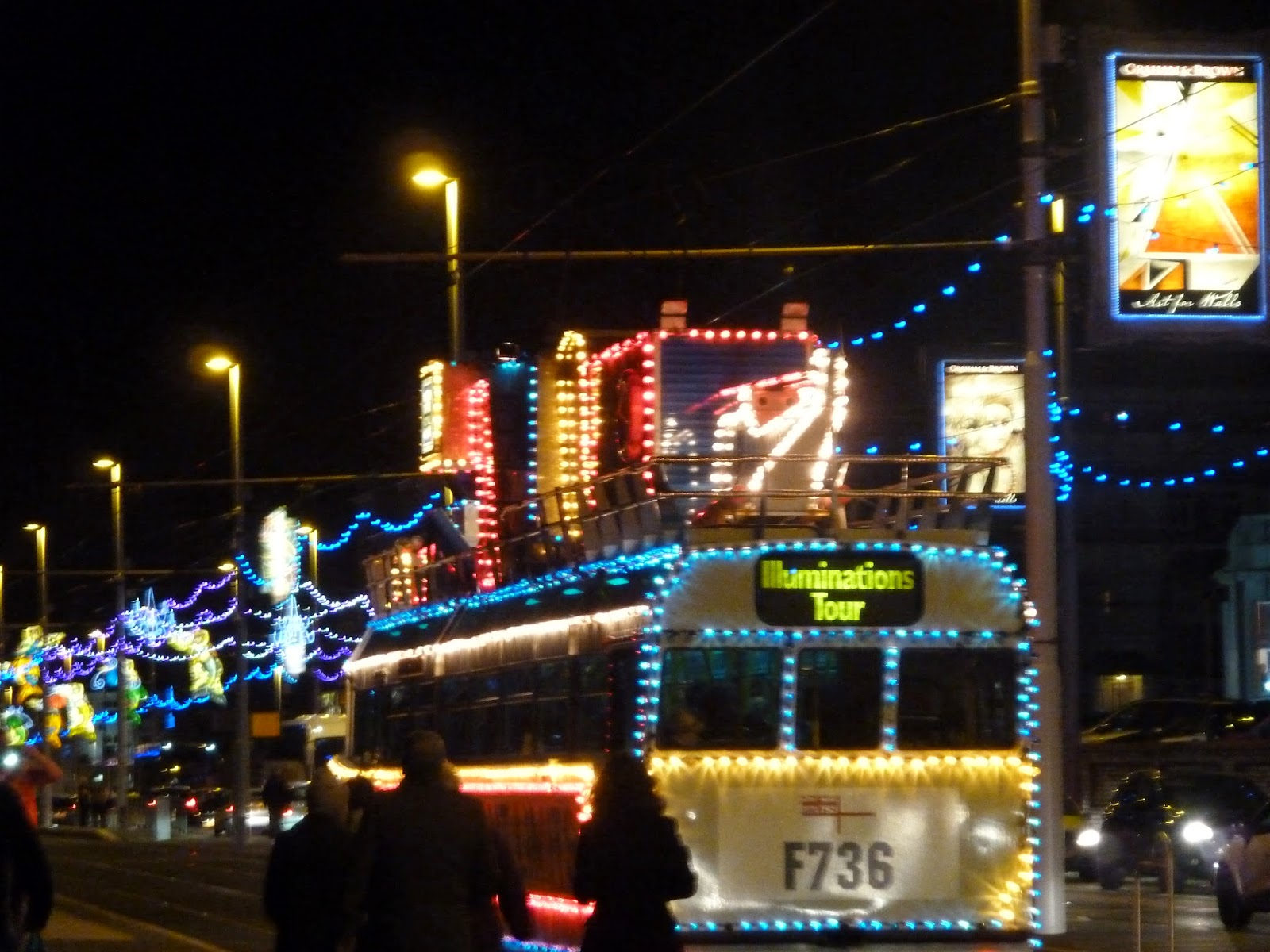 Blackpool Illuminations Tour